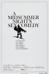 A Midsummer Night's Sex Comedy - 43 x 62 Movie Poster - Bus Shelter Style A