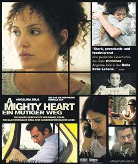 A Mighty Heart - 11 x 14 Poster German Style A