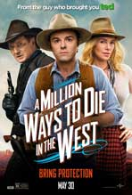 A Million Ways to Die in the West - 27 x 40 Movie Poster - Style A