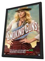A Million Ways to Die in the West - 11 x 17 Movie Poster - Style H - in Deluxe Wood Frame