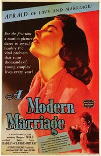 A Modern Marriage - 11 x 17 Movie Poster - Style A