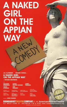 A Naked Girl On The Appian Way - 11 x 17 Poster - Style A