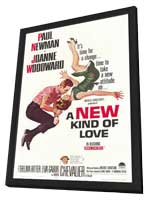 A New Kind of Love - 11 x 17 Movie Poster - Style A - in Deluxe Wood Frame