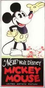 A New Walt Disney Mickey Mouse - 11 x 17 Movie Poster - Style A