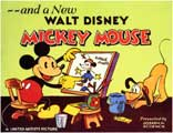 A New Walt Disney Mickey Mouse - 11 x 14 Movie Poster - Style A