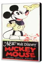 A New Walt Disney Mickey Mouse - 11 x 17 Movie Poster - Style A - Museum Wrapped Canvas