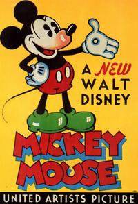 A New Walt Disney Mickey Mouse - 11 x 17 Movie Poster - Style B
