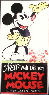 A New Walt Disney Mickey Mouse - 43 x 62 Movie Poster - Bus Shelter Style A