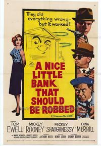 A Nice Little Bank That Should Be Robbed - 27 x 40 Movie Poster - Style A