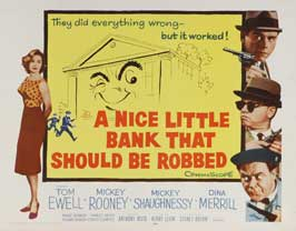 A Nice Little Bank That Should Be Robbed - 11 x 14 Movie Poster - Style A