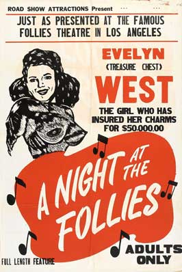 A Night at the Follies - 27 x 40 Movie Poster - Style A