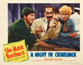 A Night in Casablanca - 11 x 14 Movie Poster - Style A