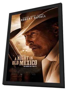 A Night in Old Mexico - 11 x 17 Movie Poster - Style A - in Deluxe Wood Frame