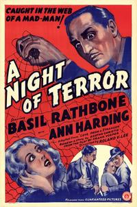 A Night of Terror - 11 x 17 Movie Poster - Style A