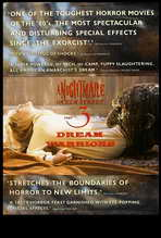 A Nightmare on Elm Street 3: Dream Warriors - 27 x 40 Movie Poster - UK Style B