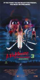A Nightmare on Elm Street 3: Dream Warriors - 20 x 40 Movie Poster - Style A