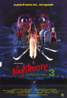 A Nightmare on Elm Street 3: Dream Warriors - 11 x 17 Movie Poster - Italian Style A