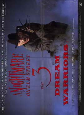 A Nightmare on Elm Street 3: Dream Warriors - 11 x 17 Movie Poster - Style B