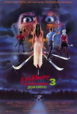 A Nightmare on Elm Street 3: Dream Warriors - 27 x 40 Movie Poster - Style A