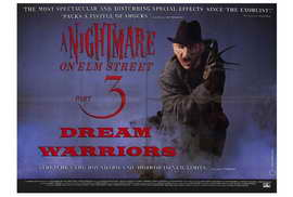 A Nightmare on Elm Street 3: Dream Warriors - 27 x 40 Movie Poster - Style B
