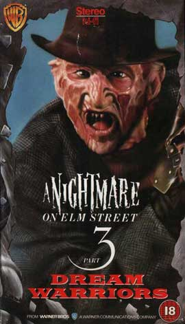 A Nightmare on Elm Street 3: Dream Warriors - 11 x 17 Movie Poster - UK Style A
