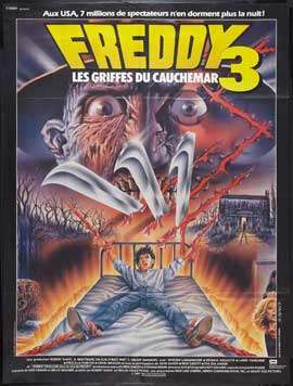 A Nightmare on Elm Street 3: Dream Warriors - 27 x 40 Movie Poster - French Style A