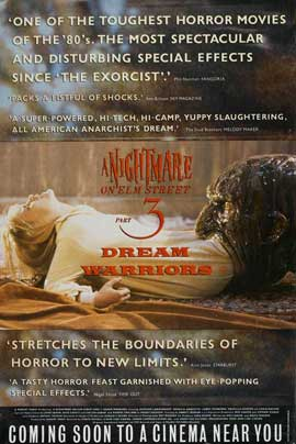A Nightmare on Elm Street 3: Dream Warriors - 11 x 17 Movie Poster - Style C