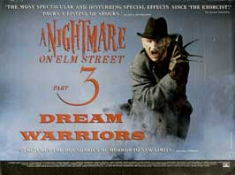 A Nightmare on Elm Street 3: Dream Warriors - 30 x 40 Movie Poster UK - Style A