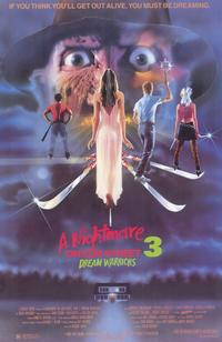 A Nightmare on Elm Street 3: Dream Warriors - 11 x 17 Movie Poster - Style A - Museum Wrapped Canvas