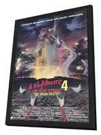A Nightmare on Elm Street 4: Dream Master - 27 x 40 Movie Poster - Style A - in Deluxe Wood Frame