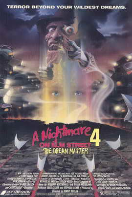 A Nightmare on Elm Street 4: Dream Master - 27 x 40 Movie Poster - Style A