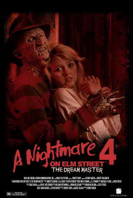 A Nightmare on Elm Street 4: Dream Master - 27 x 40 Movie Poster - Style B