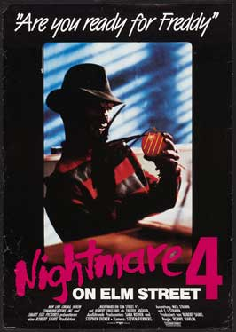 A Nightmare on Elm Street 4: Dream Master - 11 x 17 Movie Poster - German Style A