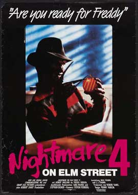 A Nightmare on Elm Street 4: Dream Master - 27 x 40 Movie Poster - German Style A