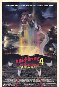 A Nightmare on Elm Street 4: Dream Master - 11 x 17 Movie Poster - Style A - Museum Wrapped Canvas