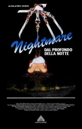 A Nightmare on Elm Street - 11 x 17 Movie Poster - Italian Style A
