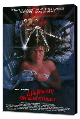 A Nightmare on Elm Street - 11 x 17 Movie Poster - Style A - Museum Wrapped Canvas