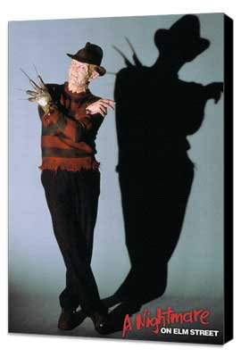A Nightmare on Elm Street - 11 x 17 Movie Poster - Style B - Museum Wrapped Canvas