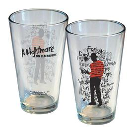 A Nightmare on Elm Street - Nightmare on Elm Street Freddy Scribbles Pint Glass
