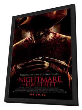 A Nightmare on Elm Street - 11 x 17 Movie Poster - Style E - in Deluxe Wood Frame