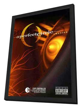 A Perfect Circle: Amotion - 11 x 17 Movie Poster - Style A - in Deluxe Wood Frame