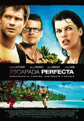 A Perfect Getaway - 11 x 17 Movie Poster - Spanish Style A