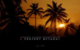 A Perfect Getaway - 43 x 62 Movie Poster - Bus Shelter Style C