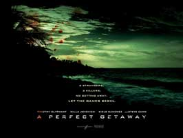 A Perfect Getaway - 43 x 62 Movie Poster - Bus Shelter Style D