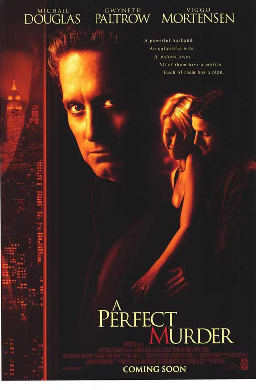 A Perfect Murder Movie Posters From Movie Poster Shop