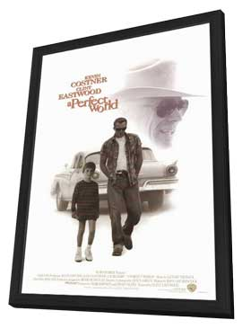 A Perfect World - 11 x 17 Movie Poster - Style A - in Deluxe Wood Frame