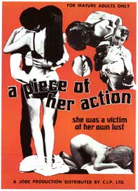 piece of her action , A - 11 x 17 Movie Poster - Style A