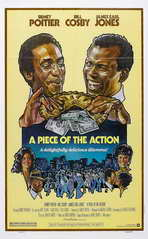 Piece of the Action - 11 x 17 Movie Poster - Style B