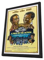 Piece of the Action - 11 x 17 Movie Poster - Style B - in Deluxe Wood Frame