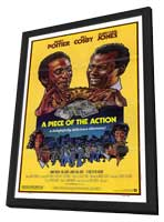 Piece of the Action - 27 x 40 Movie Poster - Style A - in Deluxe Wood Frame